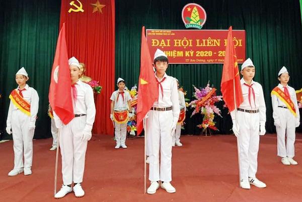 Sơn Dương, 67 Liên đội tổ chức Đại hội Liên đội năm học 2020 - 2021